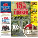 15% Off Pressure Treated Lumber + New Flyer!
