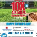 Get 10X Air Miles Reward Miles June 16-18