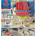 15% Off In-Stock Pressure Treated Lumber & New Flyer!