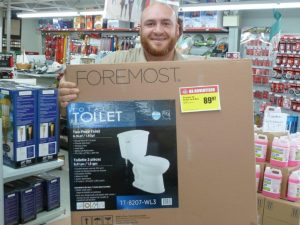 Toilet in a box