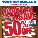 Scratch & Save up to 50% OFF!