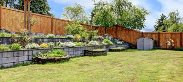A well-built fence can enhance your property