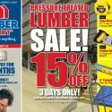 Sales Flyer running Aug 3 to 13th