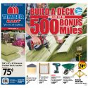 Build a Deck and get up to 500 Airmiles –  Flyer