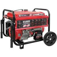 8500W Gasoline Generator with Electric Start & Wheel Kit