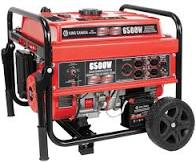 6500W Gasoline Generator with Electric Start & Wheel Kit