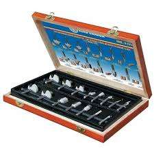 15pc. Anti-Kickback Carbide Router Bit Sets